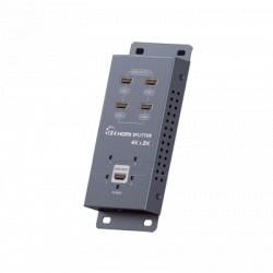 DIVISOR HDMI DE 1 ENTRADA 4 SALIDAS 4Kx2K @ 60Hz