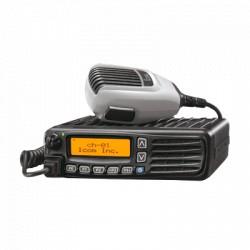Radio móvil digital NXDN, 45 W, 400-470MHz, 512 canales, analógico, digital, mezclado, convencional, trunking multitrunk