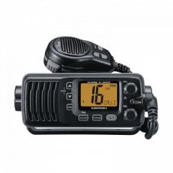 Radio móvil marino ICOM, Tx: 156.025 - 162.000 MHz, Rx: 156.025 - 162.025 MHz, 25W de potencia, sumergible IPX7