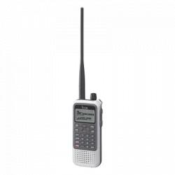 Receptor de Comunicación Portátil, cobertura de 0.150 MHz a 1300 MHz.