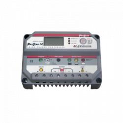 Controlador de carga y descarga 12-24 Vcd, 30 Amp