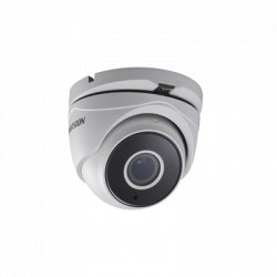 3 MEGAPIXELES TURBOHD / Eyeball MOTORIZADO 2.8 ~ 12 mm / POTENTE IR EXIR inteligente para 40m