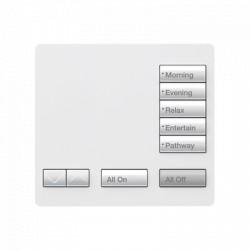 Teclado seetouch, sobre mesa 5 botones.