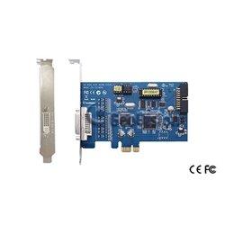 GEOVISION GV600B- TARJETA CAPTURADORA 4 CANALES DE VIDEO&1 CANAL DE AUDIO/ 30FPS/ COMPRESION GEO H264/ PUERTO PCI-E/ D