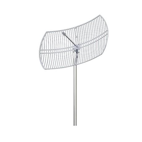 Antena 2.4 GHz Rejilla Ganancia 24 dBi Dimensiones 90 x 60 x 38 cm / Peso 3.2 kg