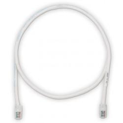 Categoría 5e, cable de conexión UTP con Pan-Plug ™ Modular Plugs en cada extremo.