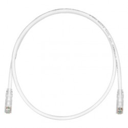 PATCHCORD CATEGORIA 6, TX6™ COLOR BLANCO 3 FT