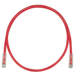 PATCHCORD CATEGORIA 6, TX6™ COLOR ROJO 10 FT