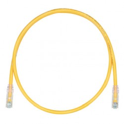 PATCHCORD CATEGORIA 6, TX6™ COLOR AMARILLO 7 FT
