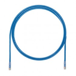 PATCHCORD CATEGORIA 6A, TX6A™ 10Gig™ COLOR AZUL 7 ft