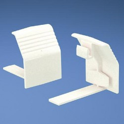COPLE PARA BASE DE DUCTO Pan-Way® T70, BLANCO INTERNACIONAL (PK/10)
