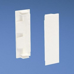 COPLE PARA CUBIERTA DE DUCTO Pan-Way® T70, BLANCO INTERNACIONAL (PK/10)