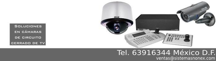 Cámaras de CCTV