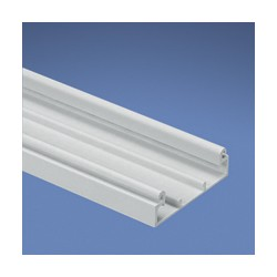 BASE DUCTO Pan-Way® T45, TRAMO DE 2 METROS, BLANCO INTERNACIONAL