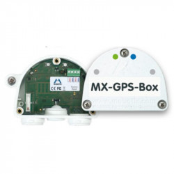 Weatherproof GPS time base for Mobotix systems