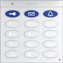 Keypad With RFID Technology, White ** LAST SALE ONLY INVENTORY **