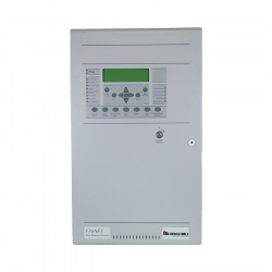 ANALOG/ ADDRESSABLE FIRE CONTROL PANEL (2 LOOP/4AMP PS), CHARCOAL