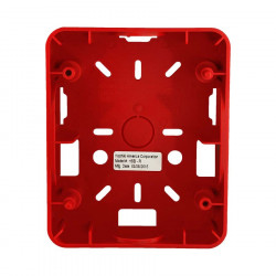 SURFACE BACK BOX FOR HEC, HES, HEH SERIES, RED