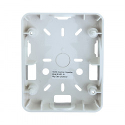 SURFACE BACK BOX FOR HEC, HES, HEH SERIES, WHITE