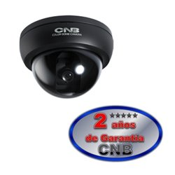 CNB D1750N- CAMARA DOMO A COLOR ILUM. 0.1LUX/RESOLUCION 380 TVL/CCD SONY 1/3 DE 3.8MM/ 3 AXIS/TAMAÑO 85MM
