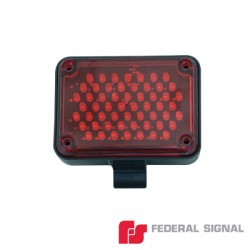 Luz LED para Parrilla en Color Rojo. 12 Vcd.