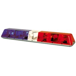 Barras de luces Heavy Duty TURBOBEAM PLUS Rojo/Claro/Azul.
