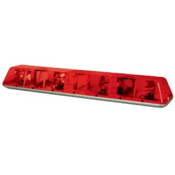 Barras de luces Heavy Duty TURBOBEAM PLUS, Color Rojo.