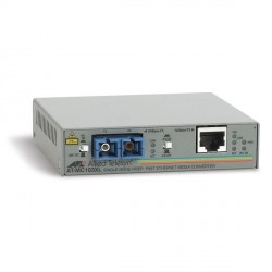 2 PORT 100BTX TO 100BFX/SC ETHERNET MEDIA CONVERTER SINGLE MODE