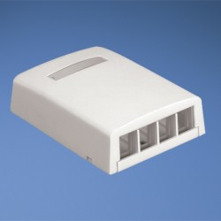 NetKey 4-port surface mount box