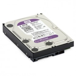 Disco duro SATA 2TB serie WD PURPLE optimizado para CCTV, 5400RPM, 24/7