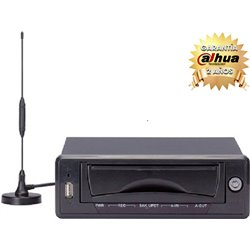 DAHUA DVR0404MEU- DVR MOVIL 4 CANALES DE VIDEO/ H264/ 120FPS/ TRANSMISION POR RED/ SISTEMA DE GPS/ 3G/INTERFAZ SATA 2.5