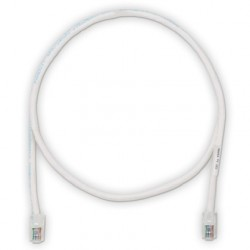 PATCHCORD CATEGORIA 6, TX6™ COLOR BLANCO 10 FT